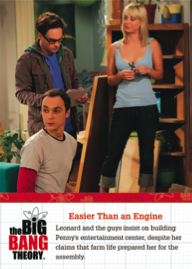 2012 Cryptozoic The Big Bang Theory Special Moments F07 Image