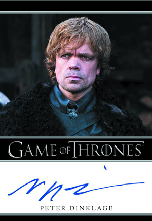 2012 Rittenhouse Game of Thrones Season One Trading Cards 21