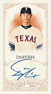 Topps Updates 2012 Allen & Ginter Baseball Autograph List 1