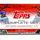 2012 Topps Baseball Complete Set Hobby Edition