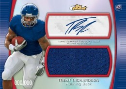2012 Topps Finest Football Cards 6