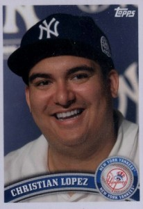 Remember Christian Lopez? His Baseball Card Has Arrived 1
