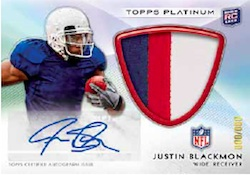 2012 Topps Platinum Football Cards 5