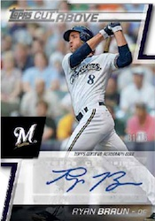 2012 Topps Series 2 Baseball A Cut Above Autograph Card