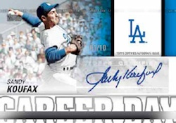 2012 Topps Series 2 Baseball Career Day Autograph Card