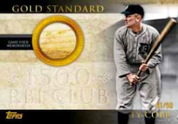 2012 Topps Series 2 Baseball Gold Standard Relic Card