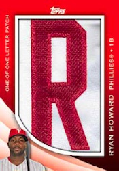 2012 Topps Series 2 Baseball Own The Name Relic Card