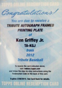 What Are the Most Valuable 2012 Topps Tribute Baseball Cards? 4