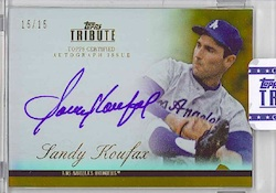 2012 Topps Tribute Baseball Cards 2