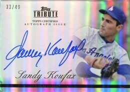 What Are the Most Valuable 2012 Topps Tribute Baseball Cards? 10