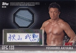 2012 Topps UFC Knockout Cards 27