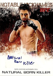 2012 Topps UFC Knockout Cards 23