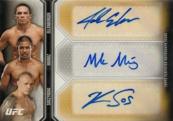 2012 Topps UFC Knockout Cards 24
