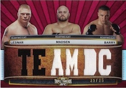 2012 Topps UFC Knockout Cards 21