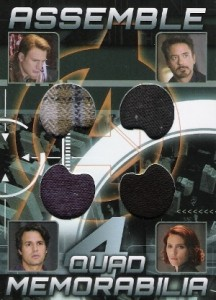 2012 Upper Deck Avengers Assemble Trading Cards 8