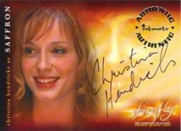 2006 Inkworks Firefly Autograph A10 Christina Hendricks as Saffron