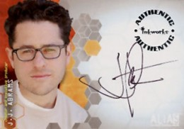 2002 Inkworks Alias Season 1 Autographs A2 J.J. Abrams - Creator