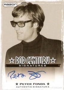 2010 Razor Pop Century Autographs AU-PF1 Peter Fonda