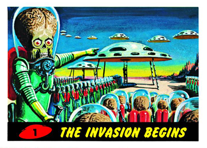 2012 Topps Mars Attacks Heritage Trading Cards 3