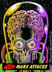 2012 Topps Mars Attacks Heritage Trading Cards 21