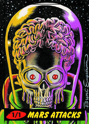 2012 Topps Mars Attacks Heritage Trading Cards 4