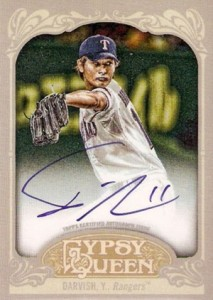 2012 Topps Gypsy Queen Yu Darvish Autograph