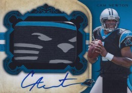 2011 National Treasures Rookie Signatures Black Cam Newton 19/25