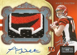 What Are the Most Valuable 2011 National Treasures Football Cards? 8