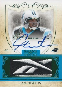 What Are the Most Valuable 2011 National Treasures Football Cards? 9