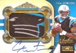 What Are the Most Valuable 2011 National Treasures Football Cards? 10
