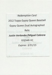 Top-Selling 2012 Topps Gypsy Queen Baseball Cards on eBay 8