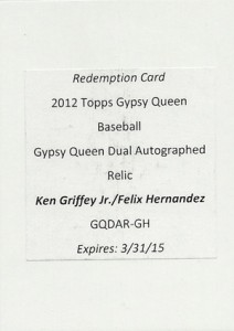 Top-Selling 2012 Topps Gypsy Queen Baseball Cards on eBay 10