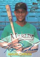 Miguel Cabrera Rookie Cards and Autograph Memorabilia Buying Guide