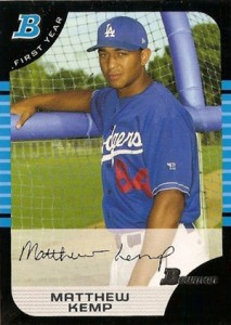 Matt Kemp Cards, Rookie Cards and Autographed Memorabilia Guide 1