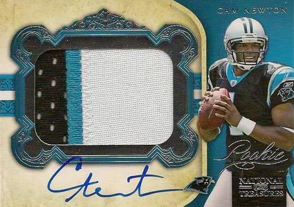 Top 10 Cam Newton Rookie Cards 10