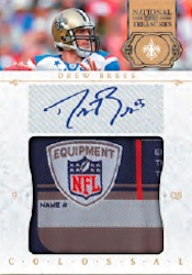 2011 National Treasures Football Cards 4