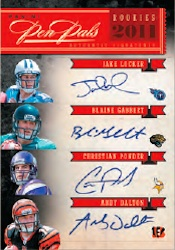 2011 National Treasures Football Cards 6