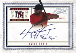 2011 Playoff Prime Cuts Baseball Cards 4