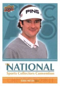 Top 3 Bubba Watson Cards - 2011 Upper Deck National Bubba Watson