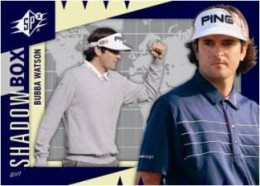 Top 3 Bubba Watson Cards - 2011 Upper Deck World of Sports Shadow Box Bubba Watson