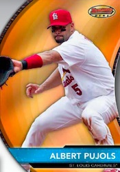 2012 Bowman Baseball Bowmans Best Die Cut Card Image