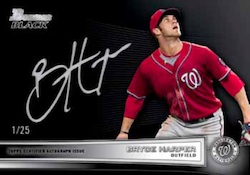 2012 Bowman Baseball The Bowman Black Collection Card Image