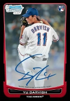 Yu Darvish Baseball Cards and Autograph Memorabilia Guide