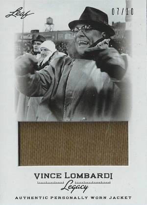 2012 Leaf Vince Lombardi Legacy Football Cards 3