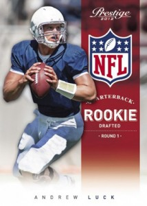 2012 Prestige Football Andrew Luck