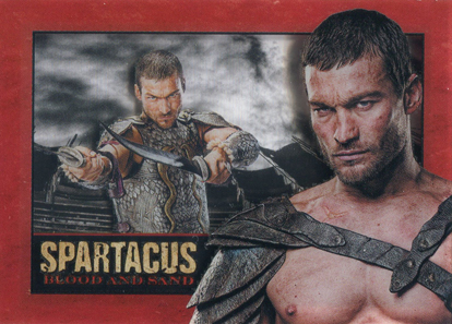 2012 Rittenhouse Spartacus Trading Cards 3
