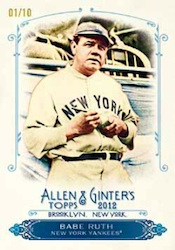 2012 Topps Allen & Ginter Baseball Cards 6