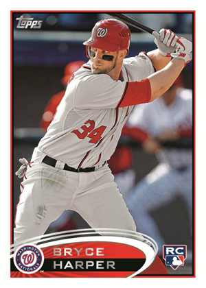 Bryce Harper Rookie Card Unveiled by Topps 1