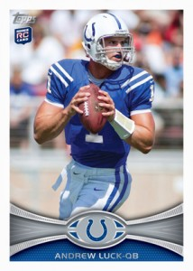 Panini and Topps Quick to Unveil Andrew Luck and Robert Griffin III Cards 2