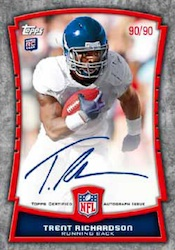2012 Topps Football Cards 10